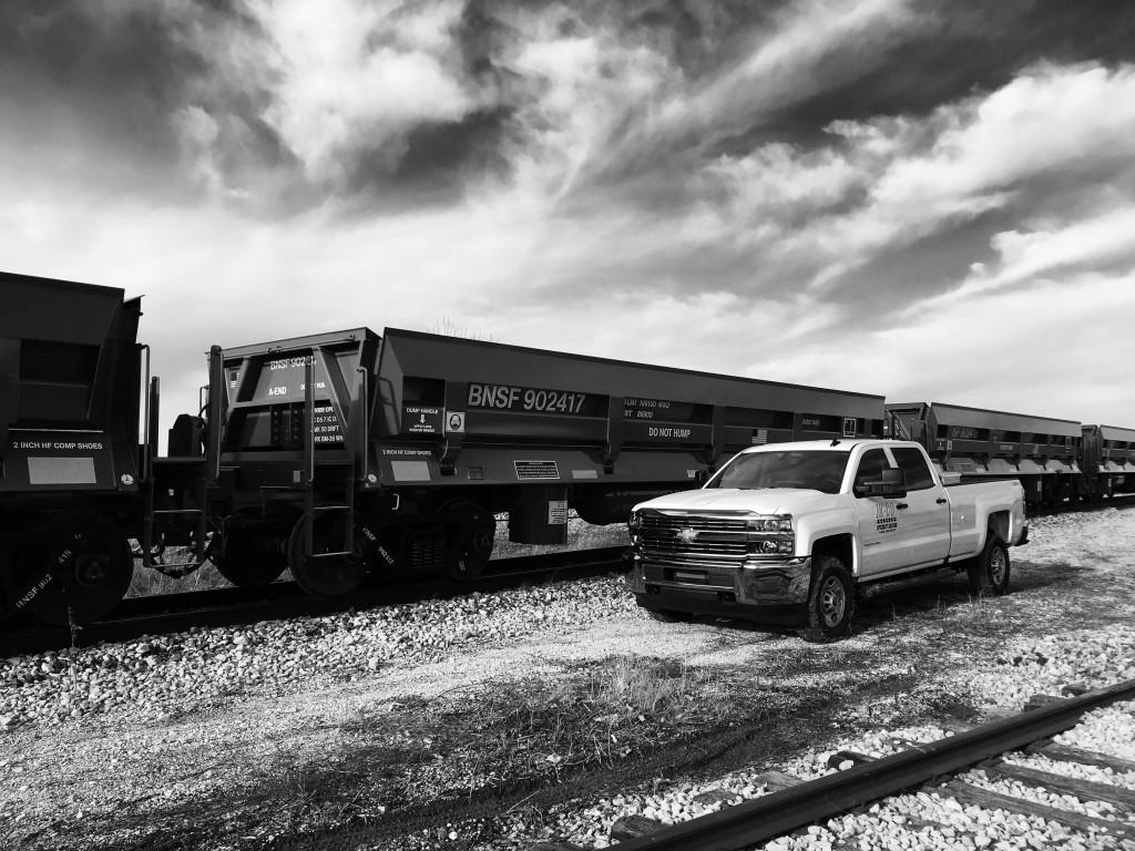 BNSF CAR AND TRUCK (JK LOGO)